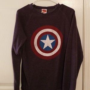 Captain America Crewneck Sweater